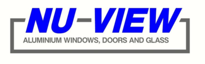 Nu-View Aluminium Windows, Doors & Glass - Logo