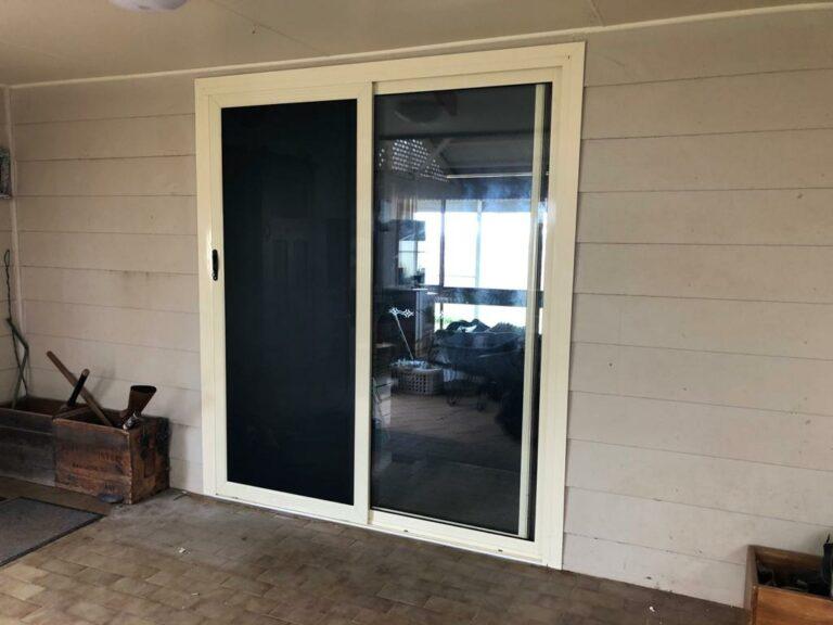 Nu-View Aluminium Windows, Doors & Glass - Sliding Door with Alugard Screen Door