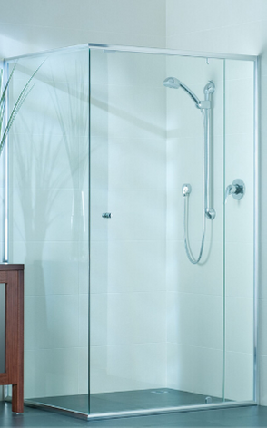 Nu-View Aluminium Windows, Doors & Glass - Semi Frameless Shower Screen