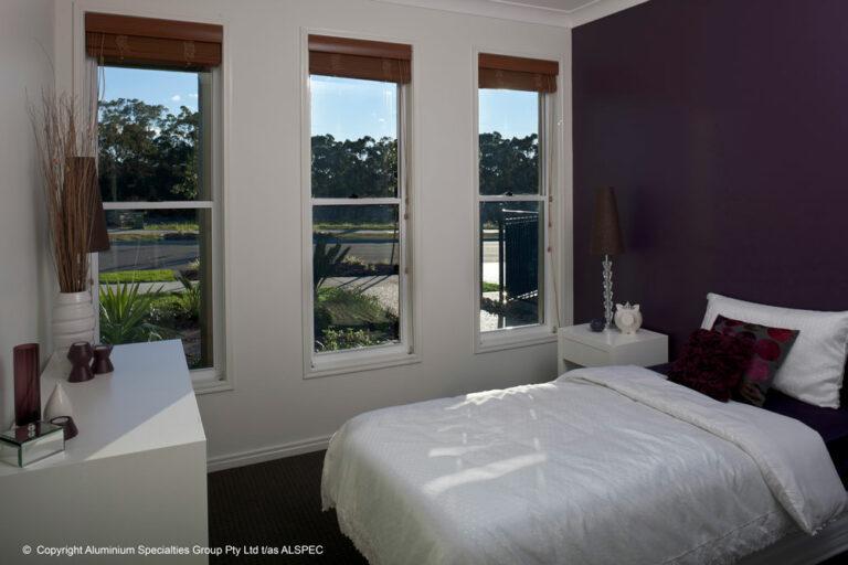 Nu-View Aluminium Windows, Doors & Glass - Double Hung Windows