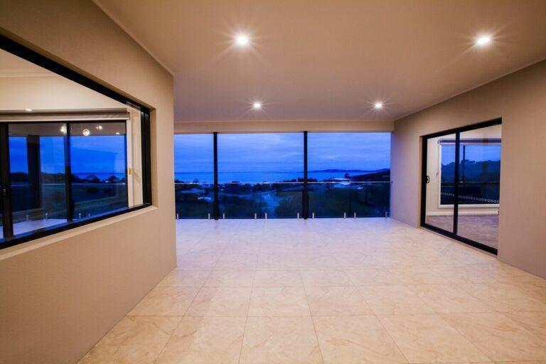 Nu-View Aluminium Windows, Doors & Glass - Paul Canty's Black & Gold on Granite Way Job