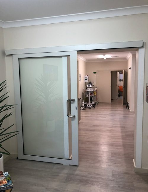 Nu-View Aluminium Windows, Doors & Glass - Internal Commercial sliding door